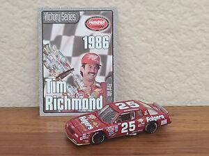 1986 #25 Tim Richmond Folger's Pocono First Win 1/64 Action NASCAR Diecast