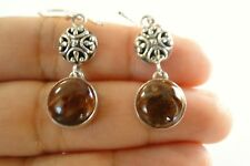 Mookite Jasper 925 Sterling Silver Dangle Drop Hook Earrings