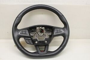 2015-2018 Ford Focus ST oem st1 complete flat bottom leather steering wheel
