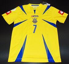 Ukraine WC 2006 Schewtschenko Home Shirt AC MILAN maglia Trikot Deutschland Trikot