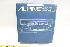 Nice NOS NOB Alpine 1201 CD Changer Control System - Old School JDM MOPAR M USA