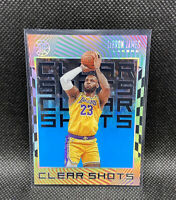 Lebron James 2019-20 Illusions Clear Shots Blue Sapphire Rare Lakers Finals MVP