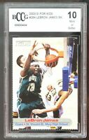 2003 SI For Kids #264 LeBron James Rookie Card BGS BCCG 10 Mint+