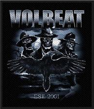 Volbeat - Outlaw Raven Patch 8cm x 10cm