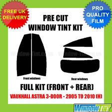 VAUXHALL ASTRA 3-DOOR 2005-2010 (H) FULL PRE CUT WINDOW TINT KIT