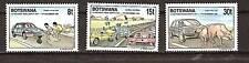 BOTSWANA # 487-489 MNH Road Safety