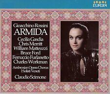 Rossini: ARMIDA - C. GASDIA, MATTEUZZI, FORD, MERRITT- C. SCIMONE - 2CD NEU ovp