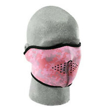 Digital Pink Camoflauge Half Face Mask Womens Ladies Biker ATV Ski Paintball