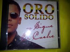 ORO SOLIDO - Y SIGUE EL CACHE (9 TRACKS).  CD.