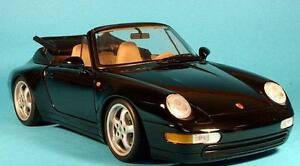 Porsche 911 CARRERA 1983 to 1994 CONVERTIBLE TOP BLACK GERMAN ORIGINAL MATERIAL