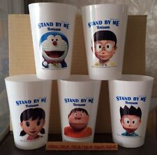 5x DORAEMON STAND BY ME movie CUP SET Nobita Shizuka Giant Suneo no topper