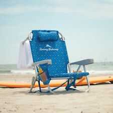 Tommy Bahama Blue Print Backpack Cooler Beach Chair With Pouch Brand New 2020
