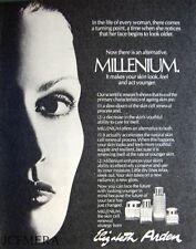 Elizabeth Arden 'MILLENIUM' Perfume Advert - Original 1981 Cosmetics Print AD