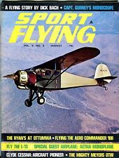 Sport Flying Magazine March 1968 Dick Bach EX No ML 042917nonjhe