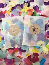 Glassine Sacs / Paquets & Jeté Me Stickers Avec Arc en Ciel Biodégradable