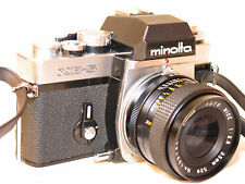 MINOLTA XE-5 35mm SLR CAMERA with 35MM F2.8 LENS