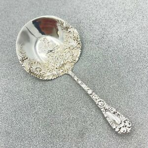 CHRYSANTHEMUM DURGIN FANCY ANTIQUE STERLING SPOON