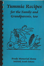 *MITCHELL SD 1992 VINTAGE BRADY MEMORIAL HOME & FRIENDS COOK BOOK YUMMIE RECIPES