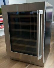 Barely Used Thermador Under-Counter Wine Fridge -24 3/16'' Glass Door - 42 btl