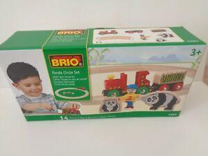 brio panda circle set 33001 wooden train set new 2004