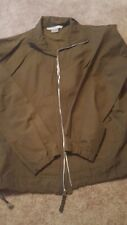 Nike all weather jacket Coat Men's Size small olive green golf casual jacket