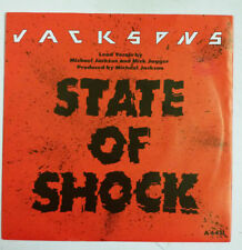 "Jacksons State Of Shock Single 7"" UK 1984            Michael Jackson"
