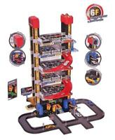 Intelligent City Parking Electronic Elevator Lights Sound 8x Cars Toy Kids  14