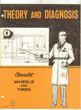 Theory and Diagnosis Chevrolet Wheels & Tires 1971 Service Manual Book Chevy GM