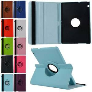 """For Huawei MediaPad T3 10 AGS-W09/L09 9.6"""" 360 Rotating Case Cover Flip Stand"""