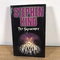 Pet Sematary Hardback 1984 Book Club Associates Stephen King