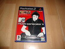 MTV MUSIC GENERATOR 3 DE CODEMASTER PARA LA SONY PS2 NUEVO PRECINTADO