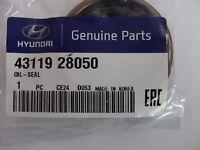 Genuine Hyundai Drive Shaft Oil Seal C/HSG SIDE R/H 4311928050