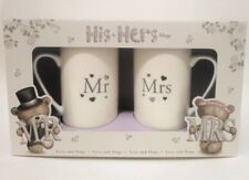 Mugs Mr & Mrs Hugs Special Day, Marriage,Occasion,Birthday,Ect. Keepsake Gifts!