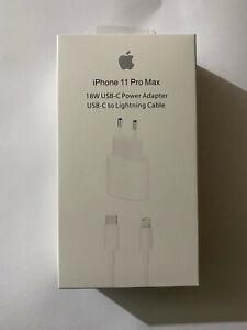 Caricabatterie iphone 11/12 / Pro / Pro Max / Mini originale alimentatore + cavo