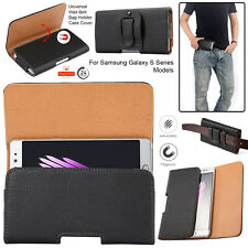 Case For Samsung Galaxy Leather Waist Phone Pocket Hip Belt Clip Holster Pouch