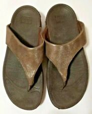 Fit Flop Women's Shoes Size 7 Brown Eu 38 Uk 5 Free Shipping