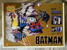 Toy Biz 1989 Batman Batcave Playset