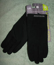 UR Powered Sweater Knit & Tech Stretch Mens Capacitive Touchscreen Gloves Sm/ Md