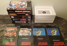 Mixed Super Nintendo SNES Instruction Manual & Box Lot *1 Game*