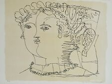 Max PAPART - Estampe originale - Lithographie - Visages