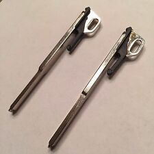2 New Replacement Uncut Key Blades Emergency Key Inserts For Mercedes IYZ3302