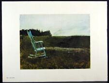 Andrew Wyeth Gravure Print DUE BACK & GUNNING ROCKS, Teel's Island