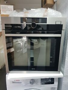 New Unboxed AEG BSE882320M SteamBoost Single Built In Electric Oven