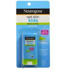 Neutrogena, Wet Skin Kids, Beach & Pool Stick Sunscreen, SPF 70+, 0.47 oz (13 g)