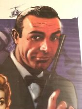 JAMES BOND FROM RUSSIA WITH LOVE  SIGNED - NUMBERED 281/1500 - COA