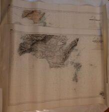 Deux cartes marines, Mer Méditerranée - Bonifacio