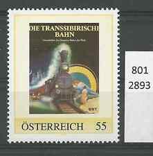 """Österreich PM personalisierte Marke Eisenbahn """"Transsibirische Eisenbahn""""  **"""