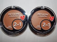 Revlon Foundation Colorstay 2 in 1 True Beige 320 Compact Makeup & Concealer Lot