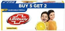 LIFEBUOY Lemon Fresh Soap 125 g (Buy 5 Get 2)  (7 x 17.86 g)
