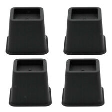 4Pcs Furniture Risers Bed Lifter Sofa Chair Riser Height 3 Inch
